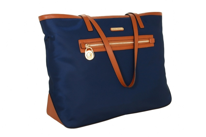 faa348a9a1a057 Michael Kors Kempton Large East/West Tote - Navy   National Credit ...