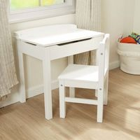 Child%27s Lift-Top Desk & Chair