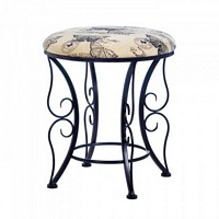 Butterfly Printed Stool