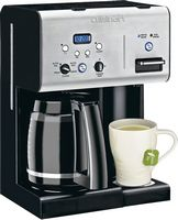 Cuisinart - Coffee Plus 12 Cup Programmable Coffeemaker Plus Hot Water System