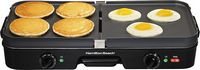 Hamilton Beach - 3-in-1 Grill/Griddle