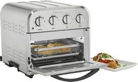 Cuisinart - 4-Slice Convection Toaster Oven + Air Fryer