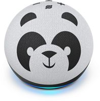 Amazon - Echo Dot (4th Gen) Kids Edition Designed for kids, with parental controls - Panda
