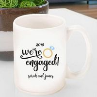 Coffee Mug- We%27re Engaged