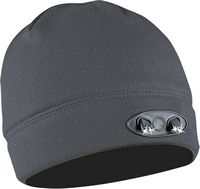 Panther Vision - Lined Fleece Beanie - Dark Gray