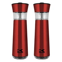 Easygrind Electric Gravity Salt and Pepper Grinder Set