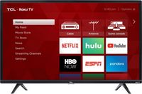 "TCL - 32"" Smart - HDTV Roku TV"