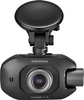 Insignia™ - Front and Rear-Facing Camera Dash Cam