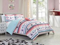 Owls Comforter Set - Twin
