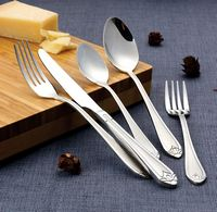 84 Piece 18/10 Flatware Set - Lorena